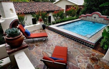 Comfy Mediterranean Swimming Pool Designs Ideas15