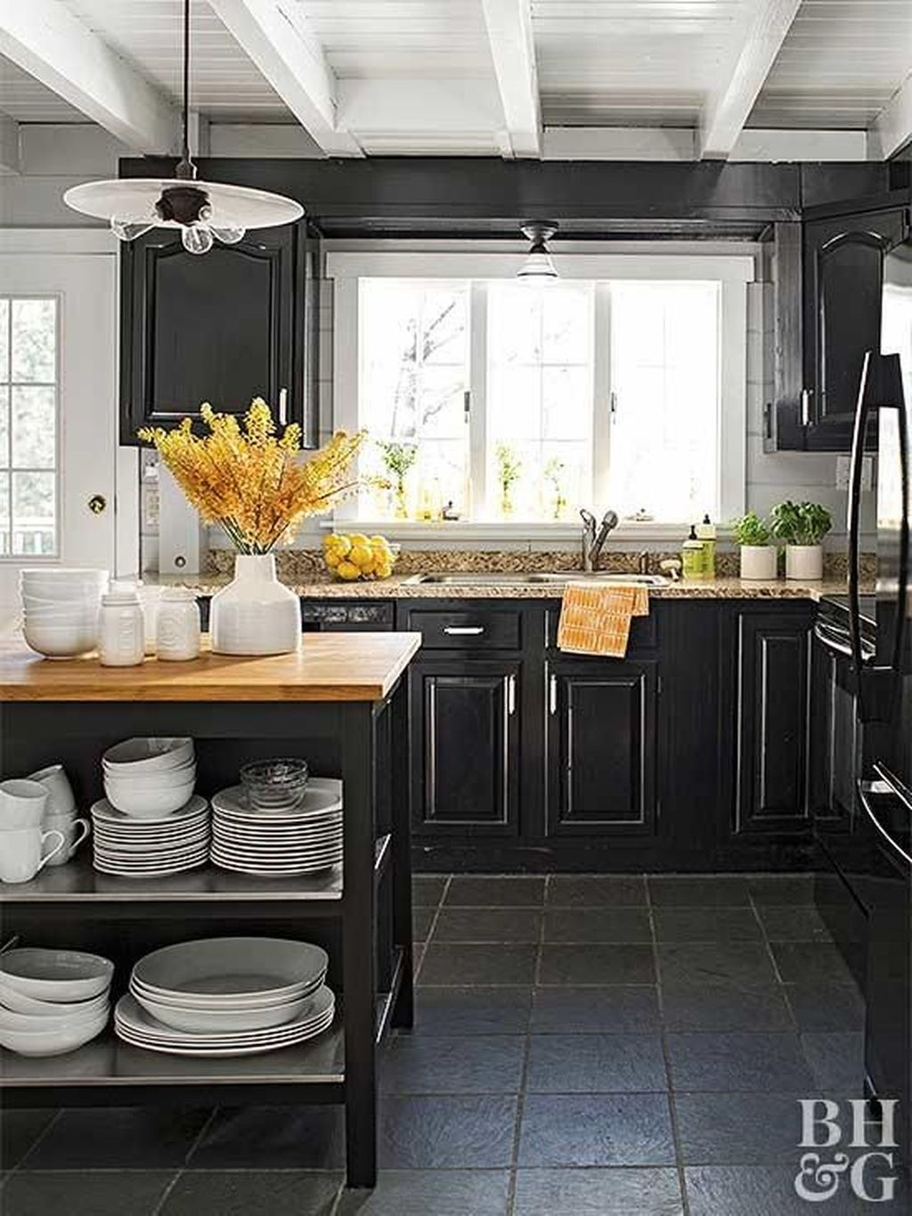 Relaxing Midcentury Decorating Ideas For Kitchen13