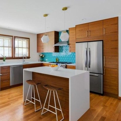 Relaxing Midcentury Decorating Ideas For Kitchen19