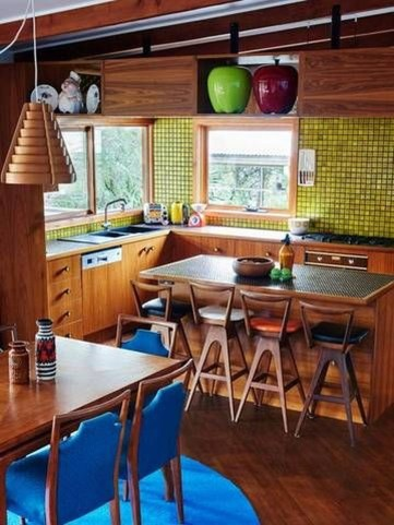 Relaxing Midcentury Decorating Ideas For Kitchen39