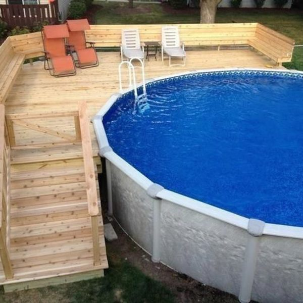 Affordable Ground Pool Landscaping Ideas24