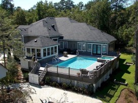 Affordable Ground Pool Landscaping Ideas27