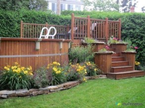 Affordable Ground Pool Landscaping Ideas36