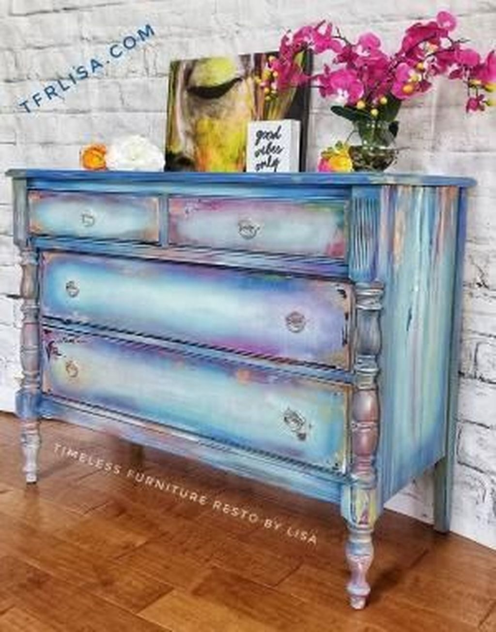 Awesome Distressed Furniture Ideas14