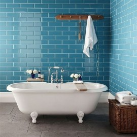 charming blue bathroom color schemes | 20+ Charming Bathroom Décor Ideas With Blue Colors ...