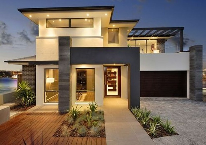 Creative Contemporary Design Ideas For Home Exterior27