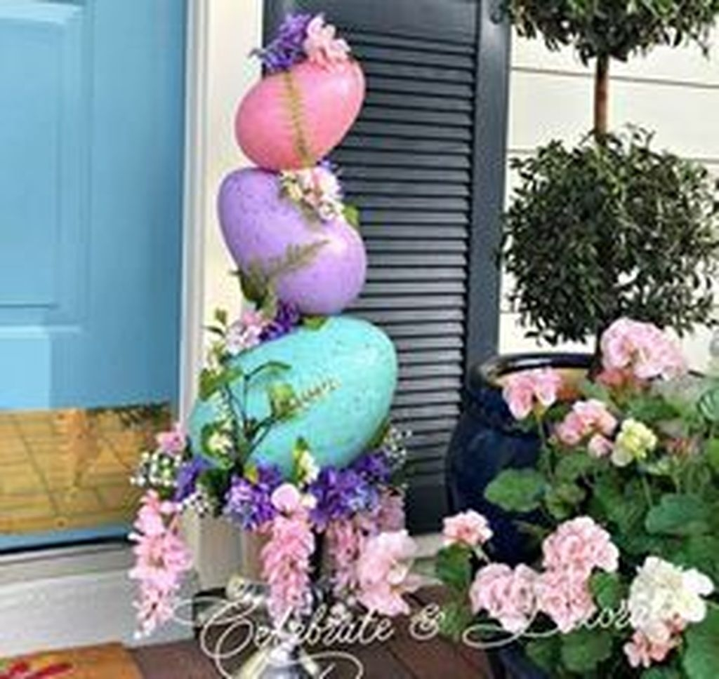 Fascinating Easter Holiday Decoration Ideas For Home48