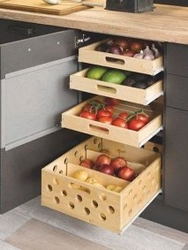 Luxury Kitchen Storage Ideas To Save Your Space37
