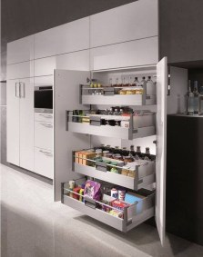 Luxury Kitchen Storage Ideas To Save Your Space40