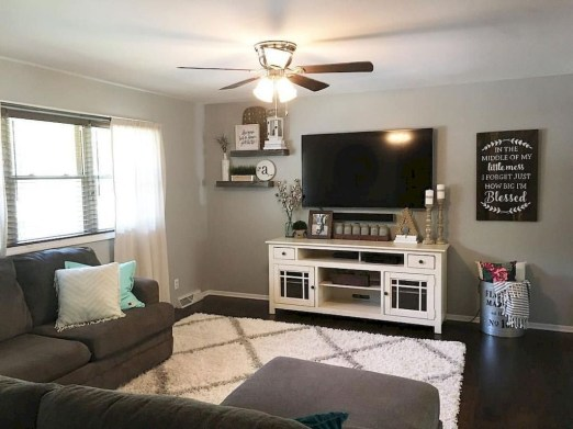 Perfect Apartment Living Room Decor Ideas On A Budget47