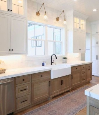 Pretty Farmhouse Kitchen Design Ideas To Get Traditional Accent32