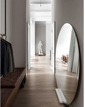 Relaxing Mirror Designs Ideas For Hallway37
