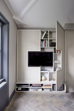 Stylish Storage Design Ideas For Small Spaces26