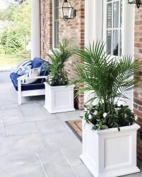 Adorable Porch Planter Ideas That Will Give A Unique Look07