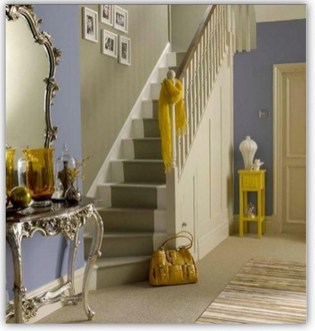 Beautiful Color Ideas For Your Stairs Decoration09