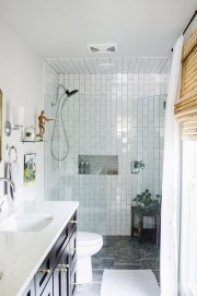 Catchy Subway Tiles Application Ideas For Bathroom13
