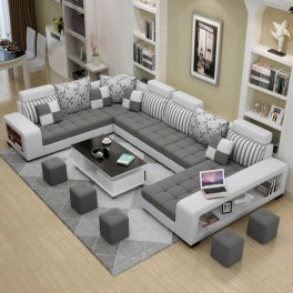 Comfortable Sutton U Shaped Sectional Ideas For Living Room06