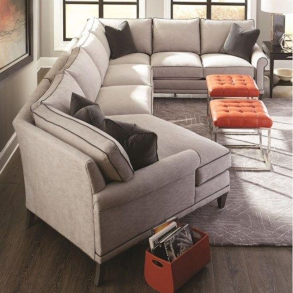 Comfortable Sutton U Shaped Sectional Ideas For Living Room09