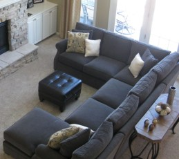 Comfortable Sutton U Shaped Sectional Ideas For Living Room11