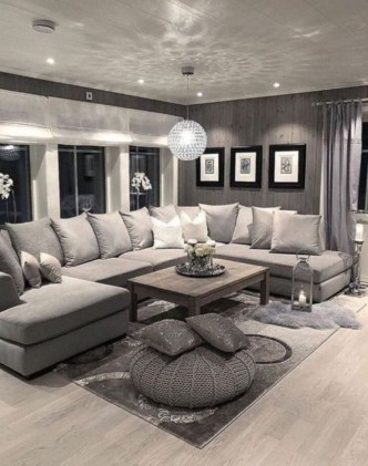 Comfortable Sutton U Shaped Sectional Ideas For Living Room18