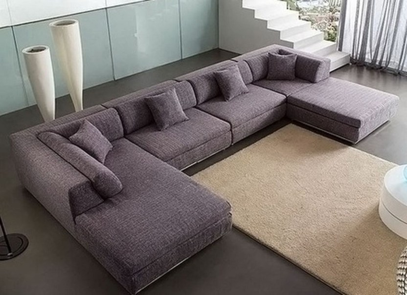 Comfortable Sutton U Shaped Sectional Ideas For Living Room26