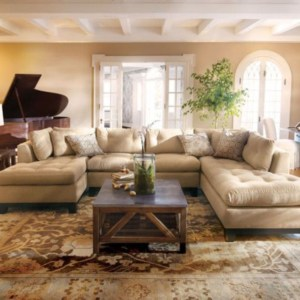 Comfortable Sutton U Shaped Sectional Ideas For Living Room27