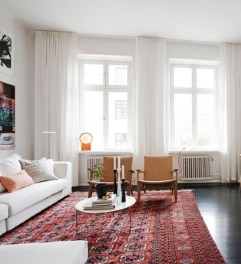 Cool Curtain Ideas For Living Room05