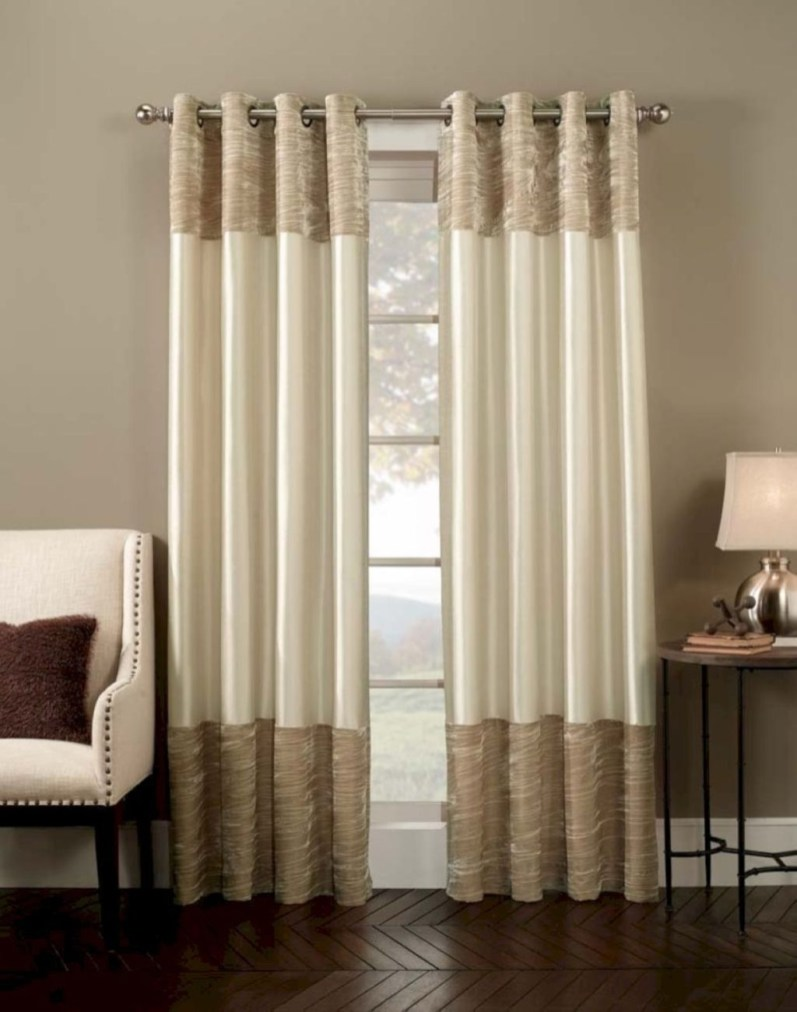 Cool Curtain Ideas For Living Room14
