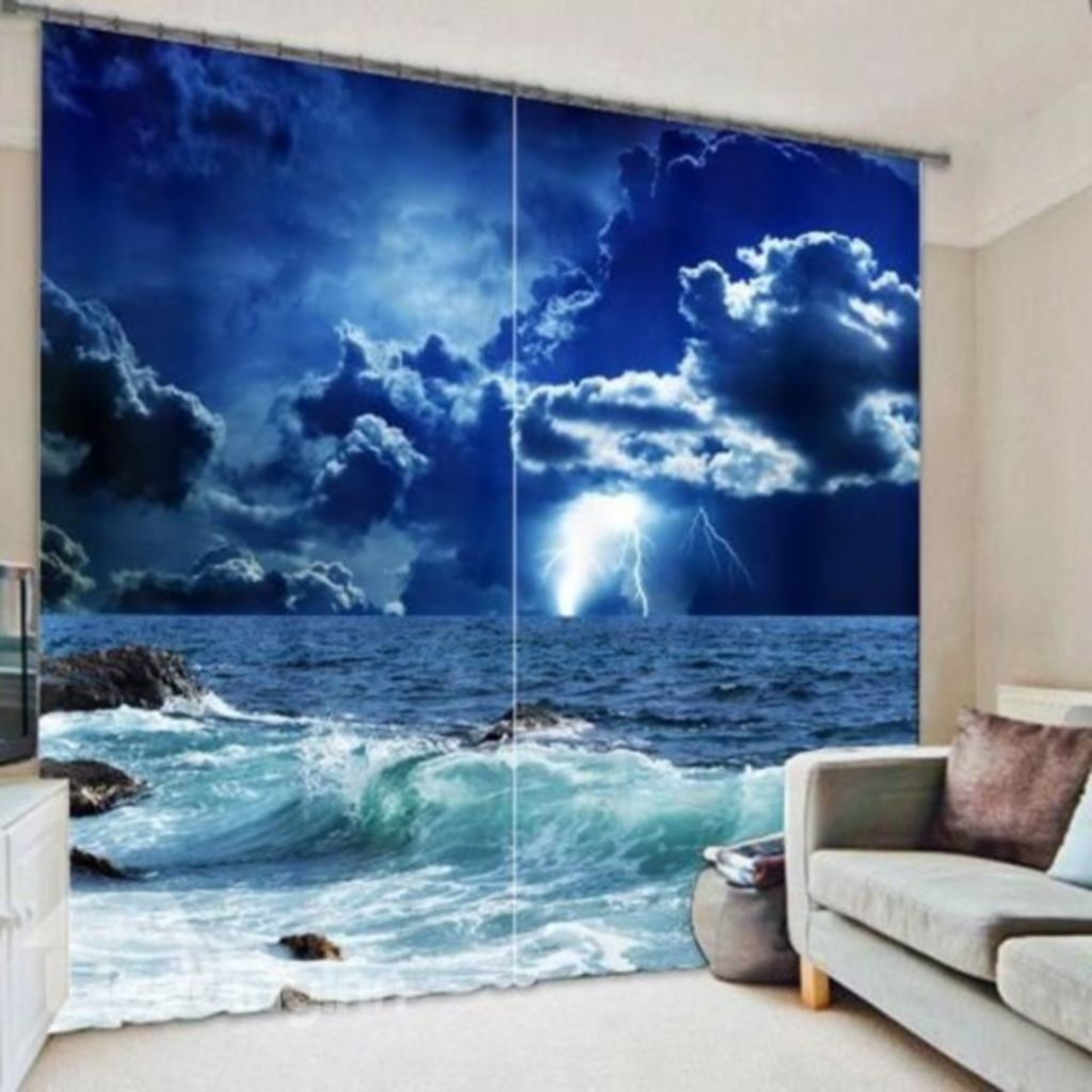 Cool Curtain Ideas For Living Room16