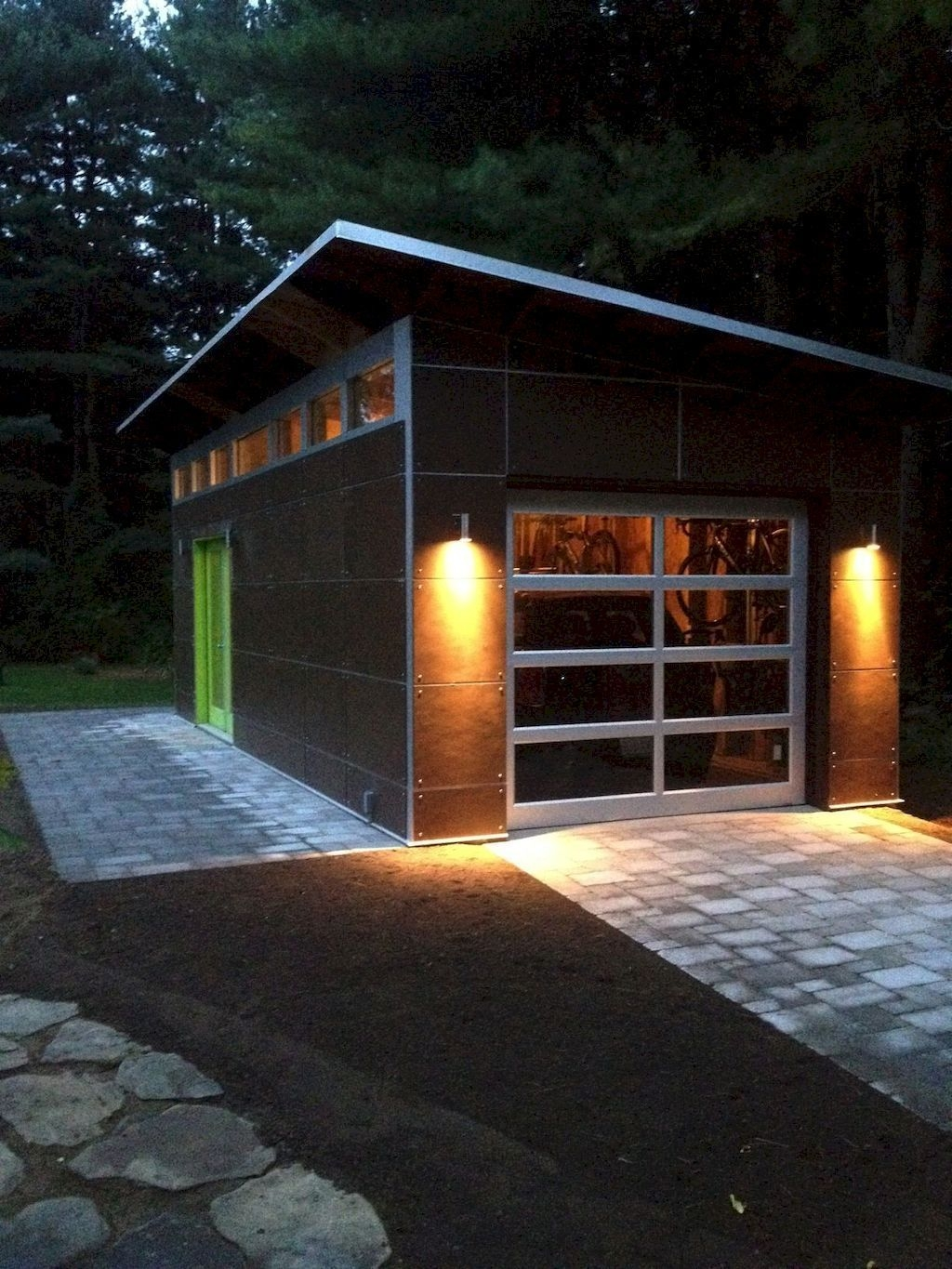 Cute Home Garage Design Ideas For Your Minimalist Home05