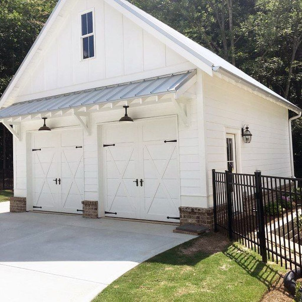 Cute Home Garage Design Ideas For Your Minimalist Home22