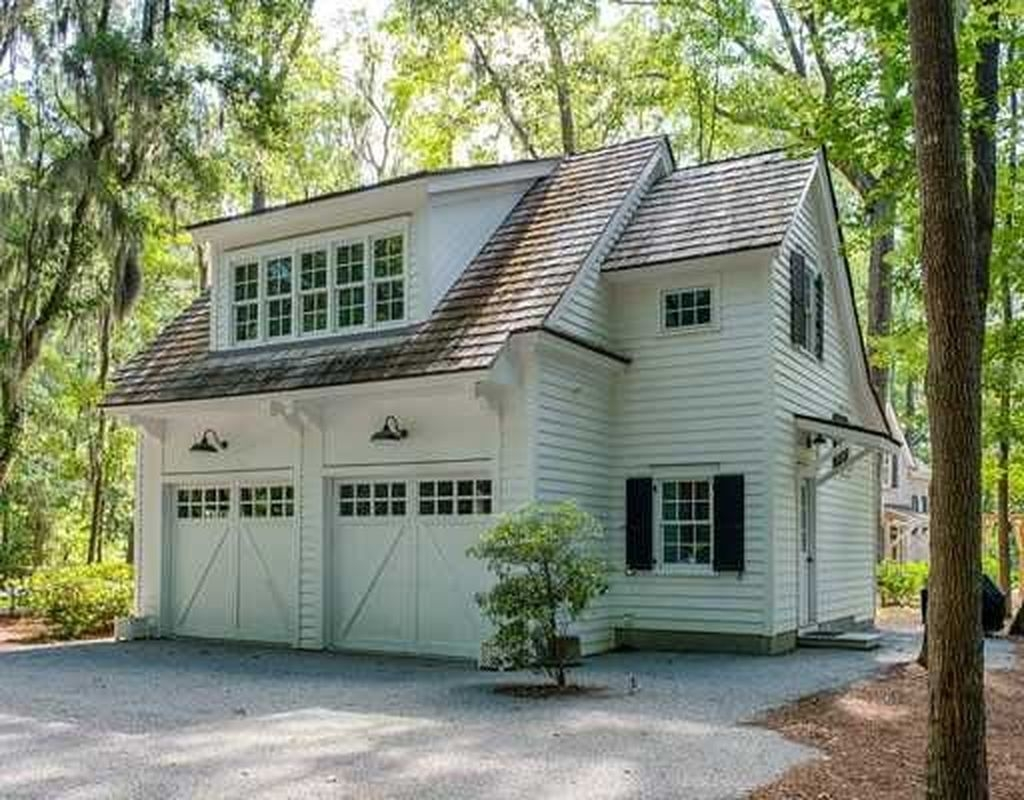 Cute Home Garage Design Ideas For Your Minimalist Home29
