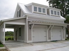 Cute Home Garage Design Ideas For Your Minimalist Home34