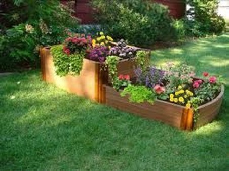 Fancy Diy Flower Beds Ideas For Your Garden04