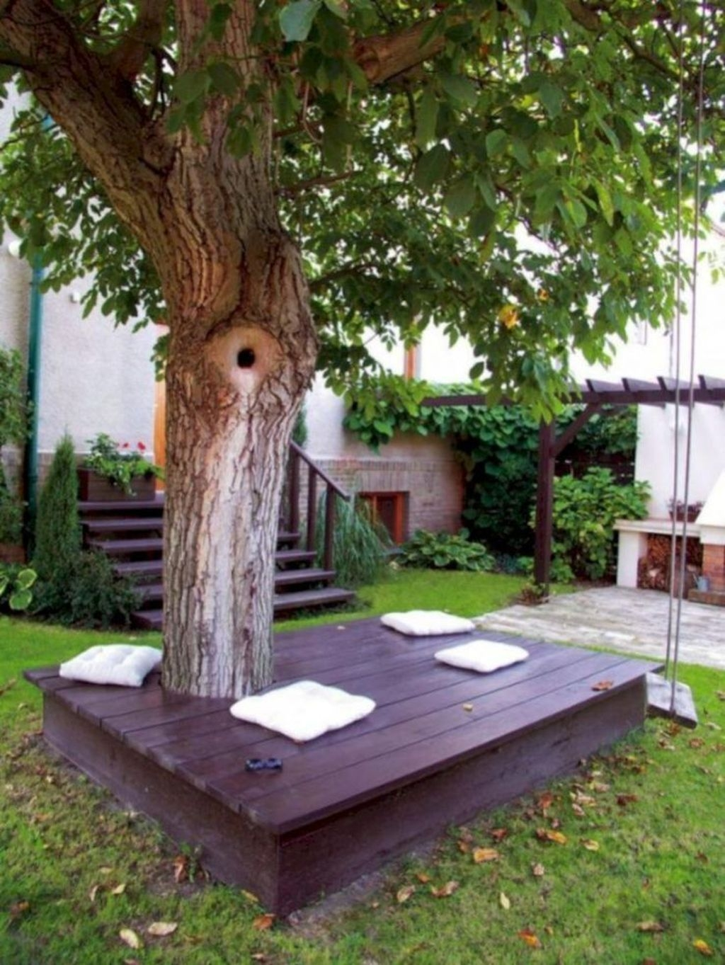 Fascinating One Day Backyard Project Ideas For Outdoor Space40