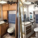 Fascinating Rv Remodel Ideas For Bathroom On A Budget37