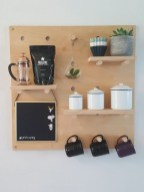Latest Diy Coffee Station Ideas In Your Kitchen16