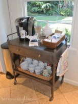 Latest Diy Coffee Station Ideas In Your Kitchen28