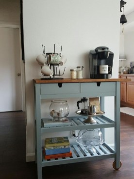 Latest Diy Coffee Station Ideas In Your Kitchen35