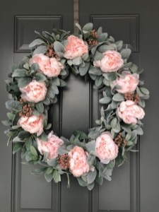 Pretty Front Door Wreath Ideas04