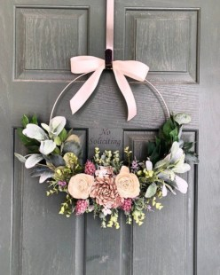 Pretty Front Door Wreath Ideas22