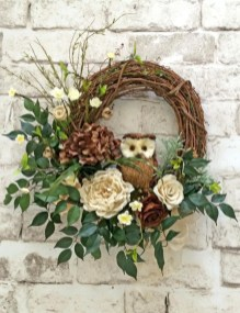 Pretty Front Door Wreath Ideas29