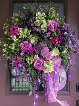 Pretty Front Door Wreath Ideas34