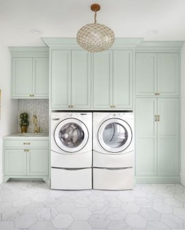 Relaxing Laundry Room Layout Ideas26