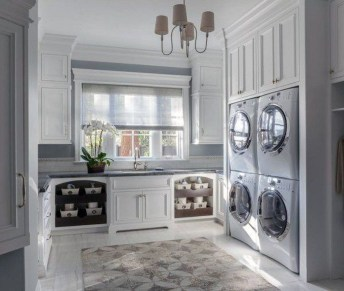 Relaxing Laundry Room Layout Ideas32