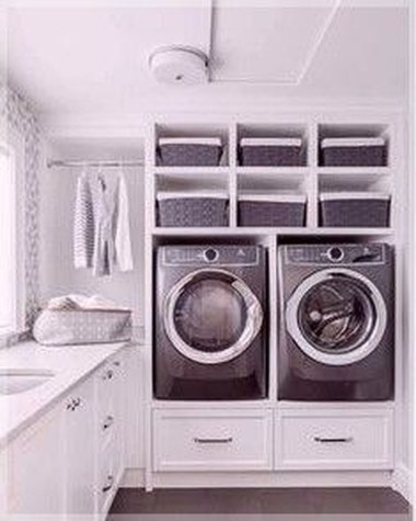 Relaxing Laundry Room Layout Ideas34