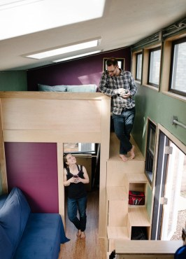 Rustic Tiny House Design Ideas With Two Beds03