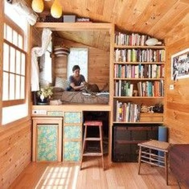 Rustic Tiny House Design Ideas With Two Beds05