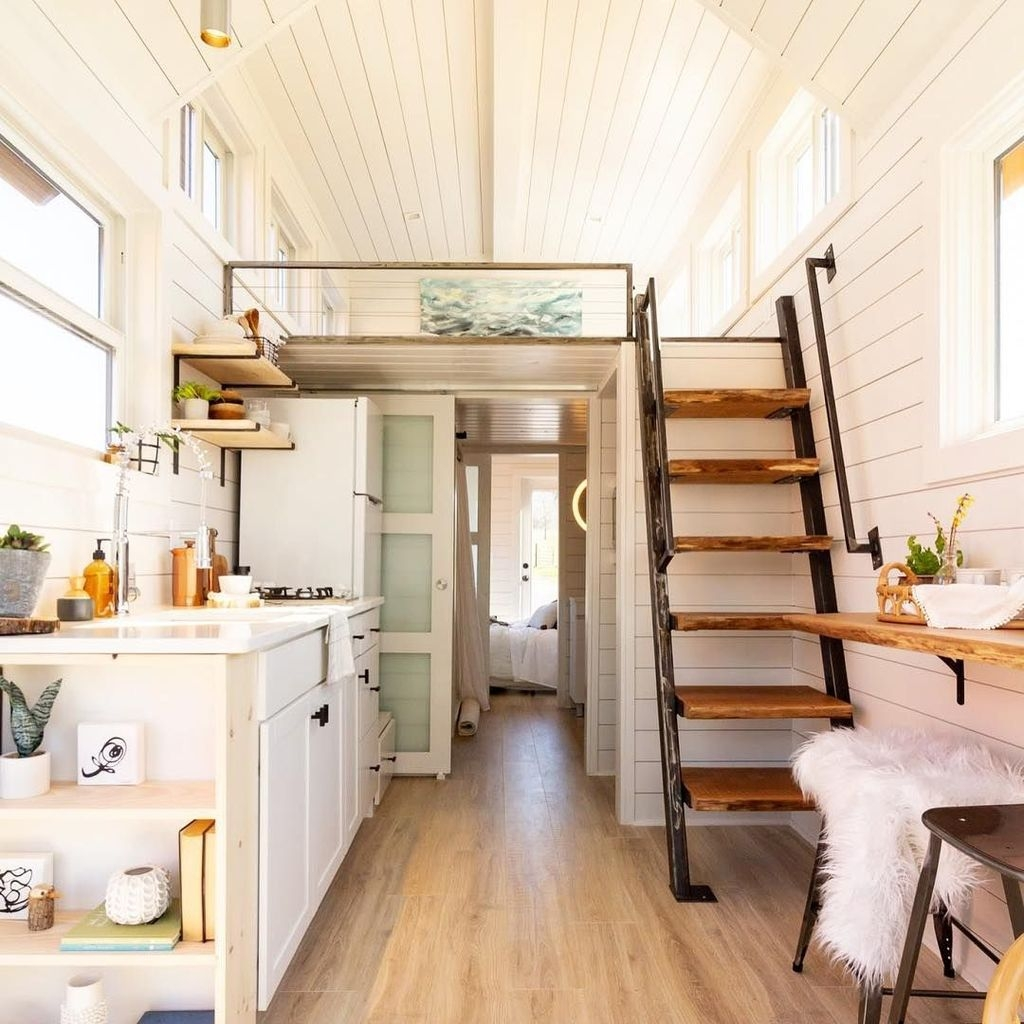 Rustic Tiny House Design Ideas With Two Beds06
