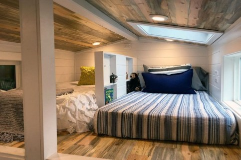 Rustic Tiny House Design Ideas With Two Beds11